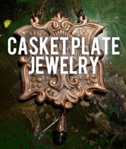 casket plate jewelry